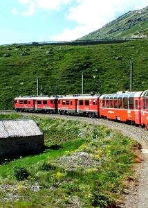 Bernina Express Swiss Rail 0342054XSmall