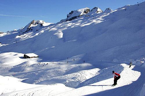 Hoch-Ybrig Swiss Alps
