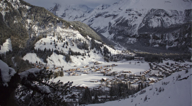 Kandersteg Swiss Alps