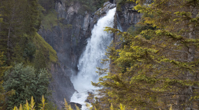 Reichenbach Falls Switzerland